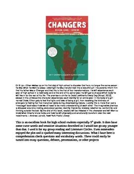Changers: Book 1 Drew
