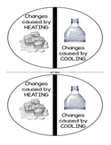 Changes Caused by Heating and Cooling