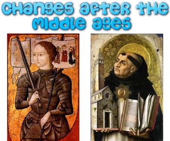 Changes after the Middle Ages Smartboard Presentation