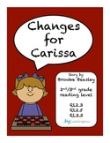 Changes for Carissa RL2.3 RL2.5 RL3.3