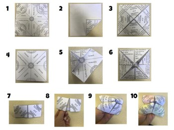 Changes from Heat Vocabulary Cootie Catcher