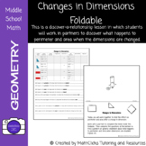 Changes in Dimension Foldable