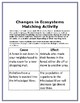 Changes in Ecosystems Matching Activity