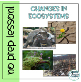 Changes in Ecosystems - No Prep Lesson, Distance Learning