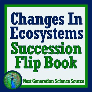 Ecological Succession (Ecosystem Changes) Flip Book Ecology Activity
