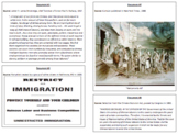 Changes in Immigration and Urbanization During Gilded Age