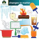 Changes in Matter Clip Art