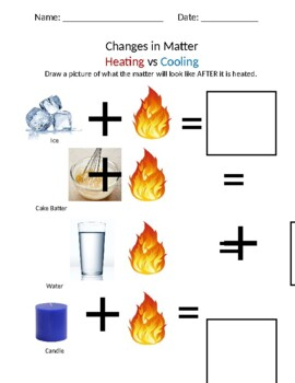 Changes in Matter: Heating vs Cooling