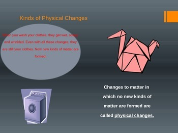 Changes in Matter, Lesson 1