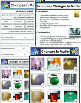 Changes in Matter - Science PDF File 60 Pages