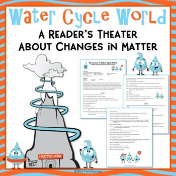 Water Cycle World - States of Matter Science Reader's Theater