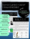 Changes in Matter - Science Reading Passages