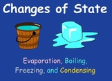 Changes in Matter - Smartboard Lesson