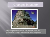 Changes in Matter and Physical Change Powerpoint Lesson