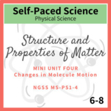 Changes in Molecule Motion - Middle School Chemistry    NG