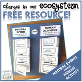 Changes in Our Ecosystem - Free Resource!