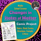 Changes in States of Matter Comic Project