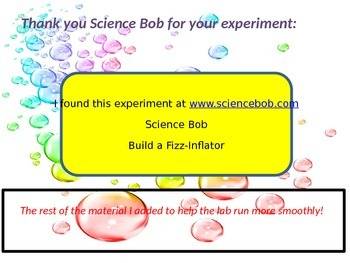 Changes in States of Matter Lab Experiemnt