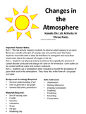 Changes in the Atmosphere Hands-On Lab Activity