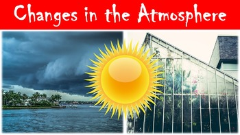 Change in the Atmosphere Lesson with Power Point, Worksheet, and Ethics Activity