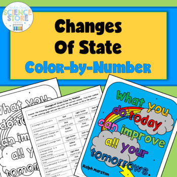 Changes of State- Color-by-Number