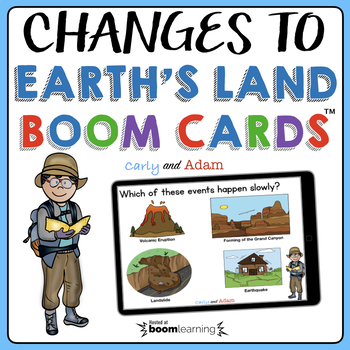 Changes to Earth's Land BOOM Cards™