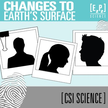 Changes to Earth's Surface CSI Science Mystery- Distance Learning