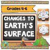 Changes to Earth's surface-Interactive Science Notebook foldables