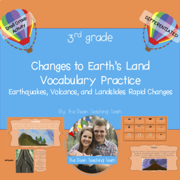 Changes to Land Vocabulary Practice- Differentiated