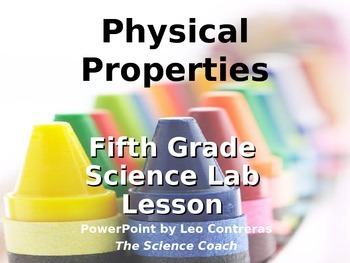 Changes to Physical Properties Lesson (melting crayons in