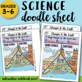 Changes to the Earth Doodle Notes Sheet - So Easy to Use!