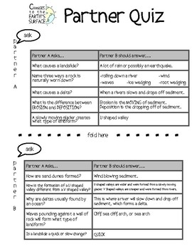 Changes to the Earth - Fifth Grade STAAR Review Science