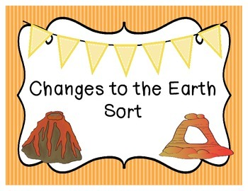 Changes to the Earth Sort