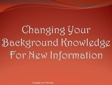 Changing Background Knowledge Reading Strategy PowerPoint