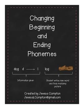 Changing Beginning and Ending Phonemes