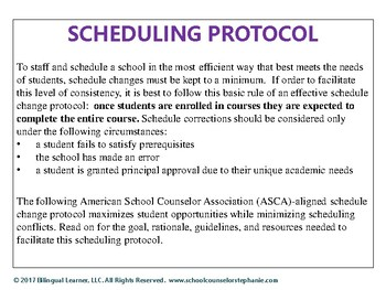 Changing Course: A Plan for Improving & Minimizing Student Schedule Changes
