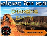 Our Changing Earth Task Cards - 28 colorful cards!