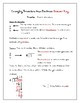 Changing Fractions into Decimals Guided Notes