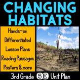 Changing Habitats 5E Science Unit Plan for Third Grade