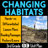 Changing Habitats 5E Science Unit Plan for Third Grade