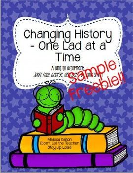 Changing History One Lad at a Time SAMPLE FREEBIE - John, Paul, George, and Ben