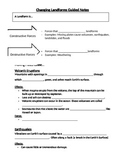 Changing Landforms Guided Notes