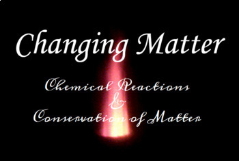 Changing Matter: Intro to Chemical Equations & the Law of Conservation of Matter