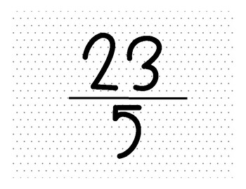 Changing Mixed Numbers and Improper Fractions