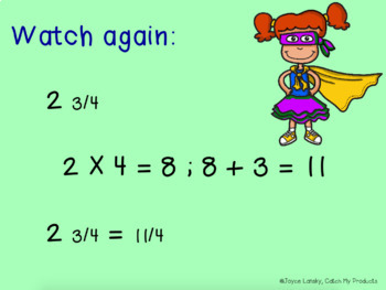 Equivalent Fractions 4th Grade for Promethean Board