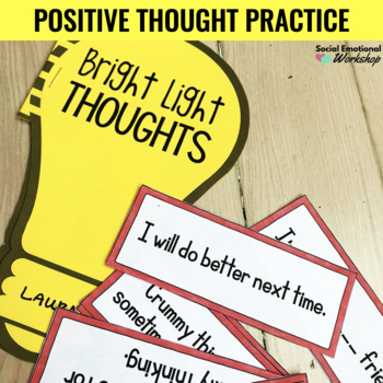 Changing Negative Thoughts Worksheets: Use Positive Thinking ...