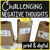 Changing Negative Thoughts Worksheets: Use Positive Thinki