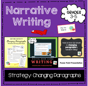 Changing Paragraphs Activity