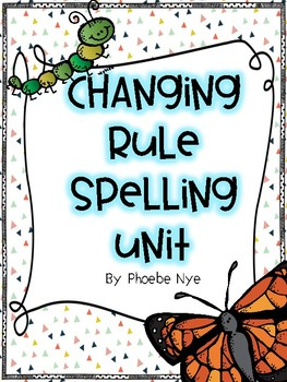 Changing Rule-Spelling Unit