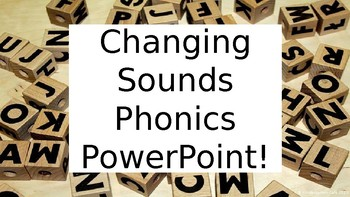 Changing Sounds PowerPoint!